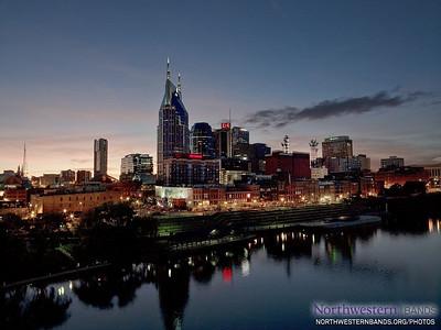 Nashville at Dusk