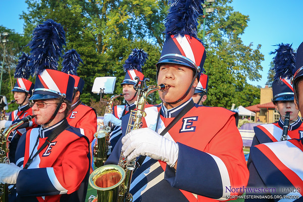 Welcome the Evanston Township Marching Wildkits!