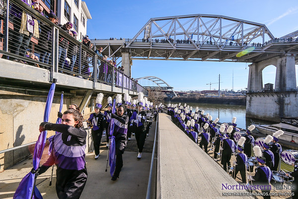 The Northwestern U Band?