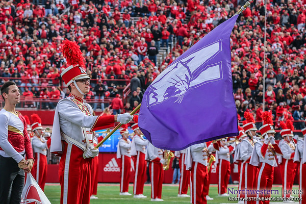 Thanks For Guarding Our N-'Cat, @UNLbands!