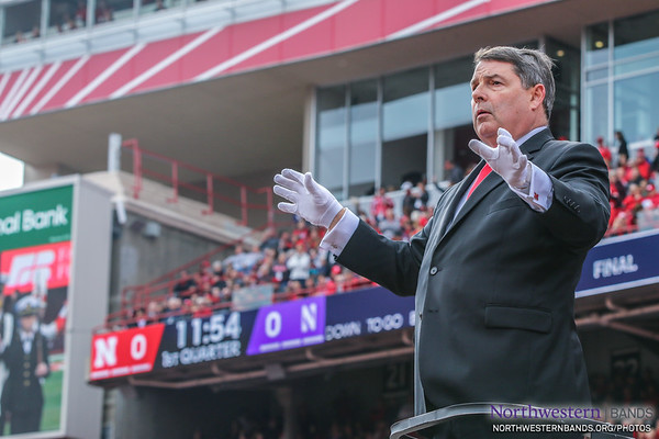 Anthony M. Falcone Conducts the Cornhusker Marching Band