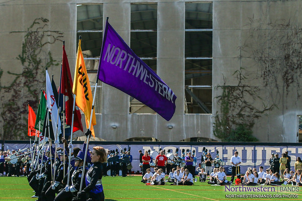 Purple Banner Waving High