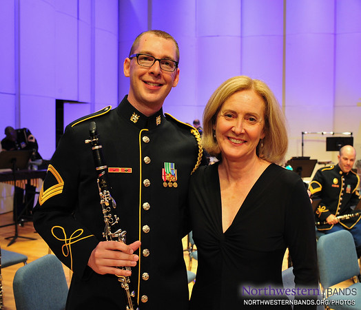 """Northwestern Director of Bands Dr. Mallory Thompson Conducts U.S. Army Band """"Pershing's Own"""""""