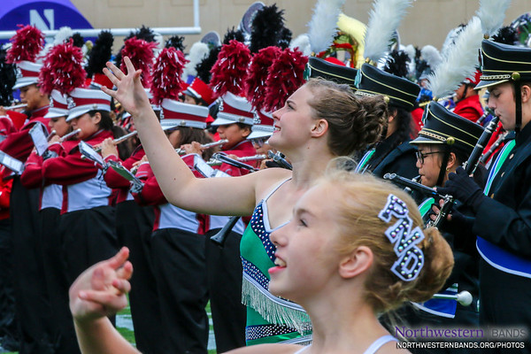 Peoria Notre Dame High School's Twirlers are Out for a Spin