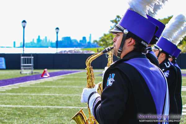 NUMB - Northwestern Football vs. Michigan - September 29, 2018