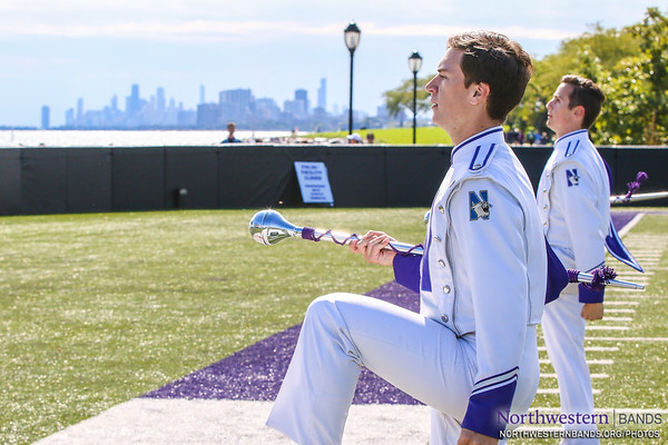 Chicago's Big Ten Drum Majors