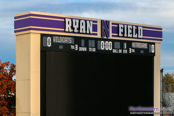 Northwestern Welcomes Notre Dame at Ryan Field