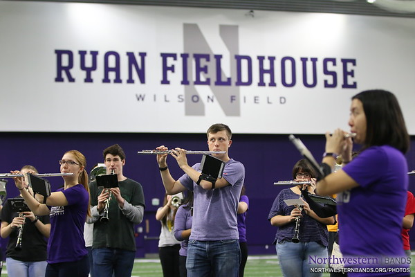 The Weather Outside is Frightful, But We're Nice and Cozy in Ryan Fieldhouse