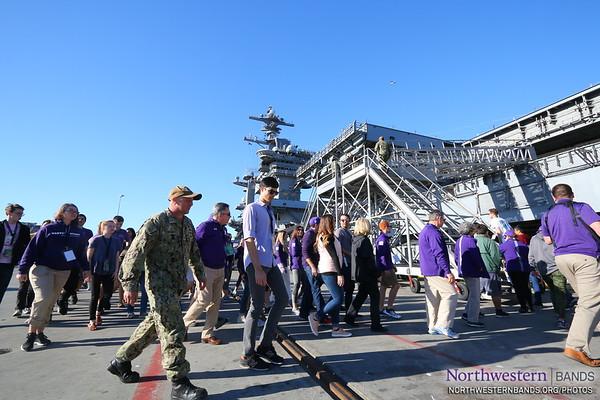 NUMB Boards @USNavy's USS Theodore Roosevelt at #NASNI