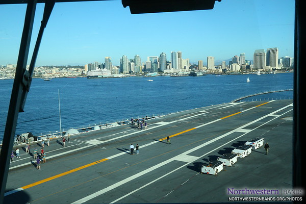 ...We See #SanDiego and NUMBers Touring the USS Theodore Roosevelt Flight Deck. (2/2)