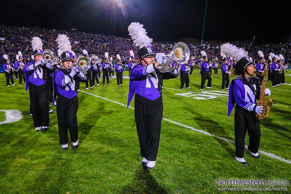 NUMB - Northwestern Football vs. Notre Dame - November 3, 2018