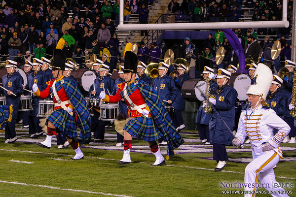 We're Honored to Welcome the @NotreDameBand to Ryan Field