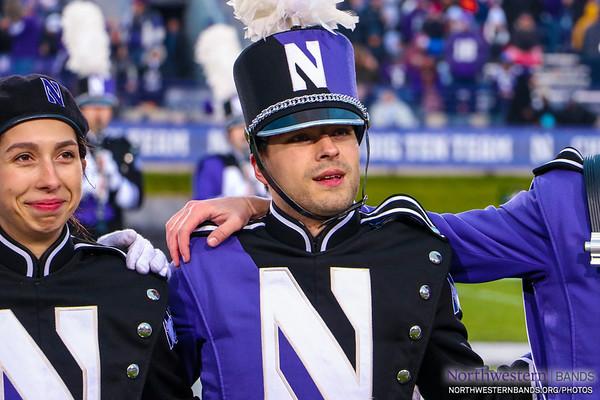 NUMB #NUSeniorDay - Northwestern Football vs. Illinois - November 24, 2018