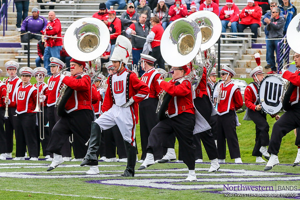 Welcome the Wisconsin @BadgerBand to Ryan Field!