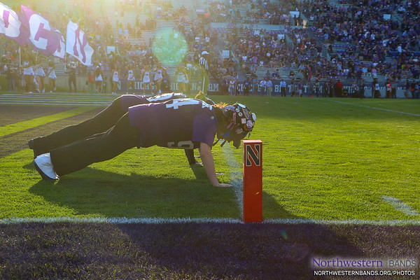 NUMB #NUBandDay - Northwestern Football vs. UNLV - September 14, 2019