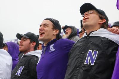 NUMB #NUhomecoming - Northwestern Football vs. Iowa - October 26, 2019