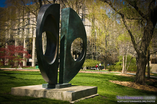 Sculpture at Northwestern University