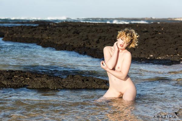 Nude in the Sea