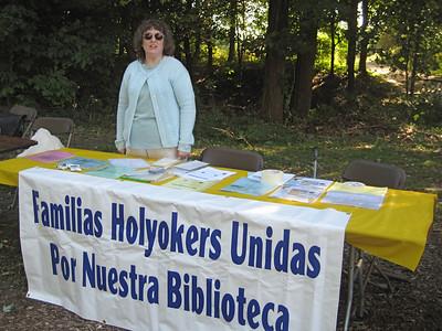 Cheryl Livingood, reference librarian, Holyoke Public Library