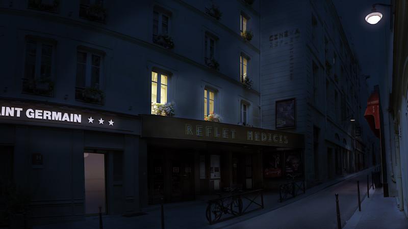 Cinéma Reflet Medicis - 3 rue Champollion,  75005 Paris
