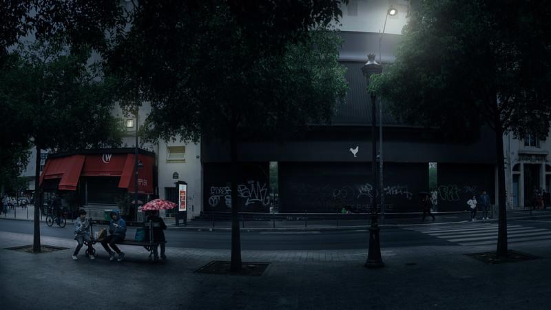 Cinéma Pathé Wepler (côté Place) - 140 boulevard de Clichy , 75018 Paris