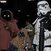 Jawa, Ewok, and Stormtrooper