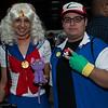 Sailor Moon, Ash Ketchum, and Luna