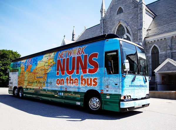 Nuns on the bus. 072116