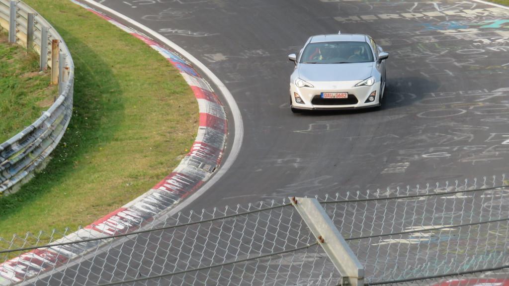 Lexus with a false front end.