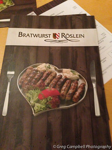 A heart healthy menu - German Style (notice the big helping of vegetables). (iPhone photo)