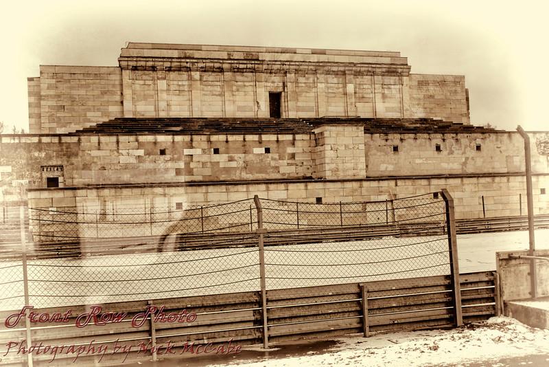 The Zeppelinfeld (Zeppelin Field). Location of Hitlers Nazi Rallys.