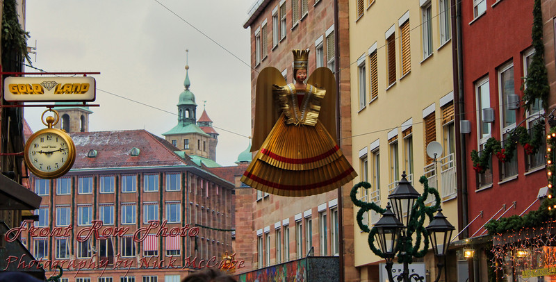 The streets of Nuremberg