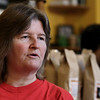Wincester Hospital emergency room nurse Darlene Wilson, who lives in Lowell, talks about her trip to Texas to help out after Hurricane Harvey. SUN/JOHN LOVE