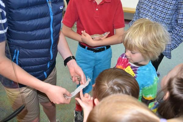 Nursery School Visits Our Seventh Graders