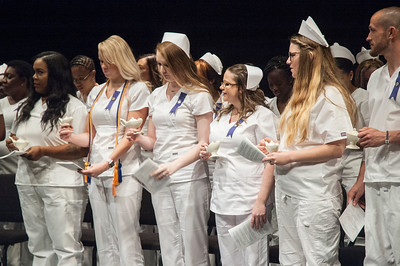 Nursing Pinning Ceremony Spring 2018