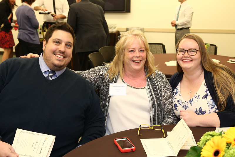 College of Nursing and Public Health Annual Awards | Campbell Lounge, Center for Recreation and Sports. Photo Credit: Chris Bergmann Photography