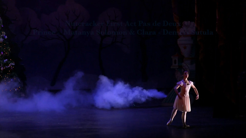 Nutcracker First Act Pas de Deux Matanya Solomon