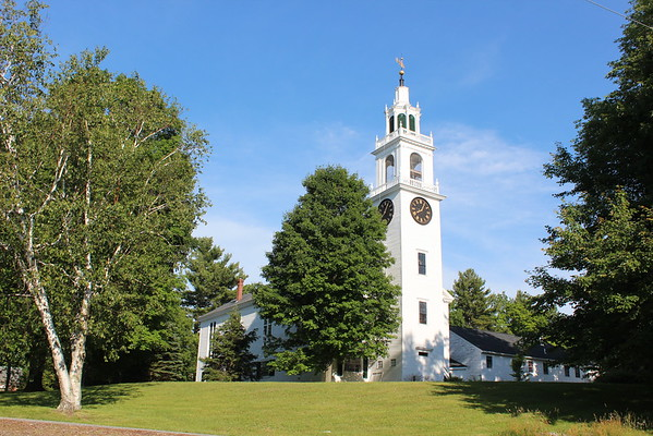First Parish Congregational Church Meetinghouse, East Derry, New hampshire