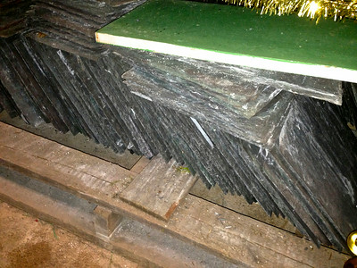 Slates stored in Taylor Library basement (available for FPC use)