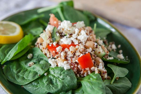 2017.06.05 Mediterranean Veggie Quinoa Salad
