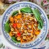 0002_NutritionTwins-moroccan-chickpea-veggie-quinoa-carrots-bellpepper-chicken-tumeric-smokedpaprika-spinach