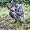 Bome Man Drinking Fresh Blood