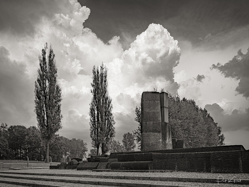 Clouds, Trees, Stones, remembrances – Oświęcim