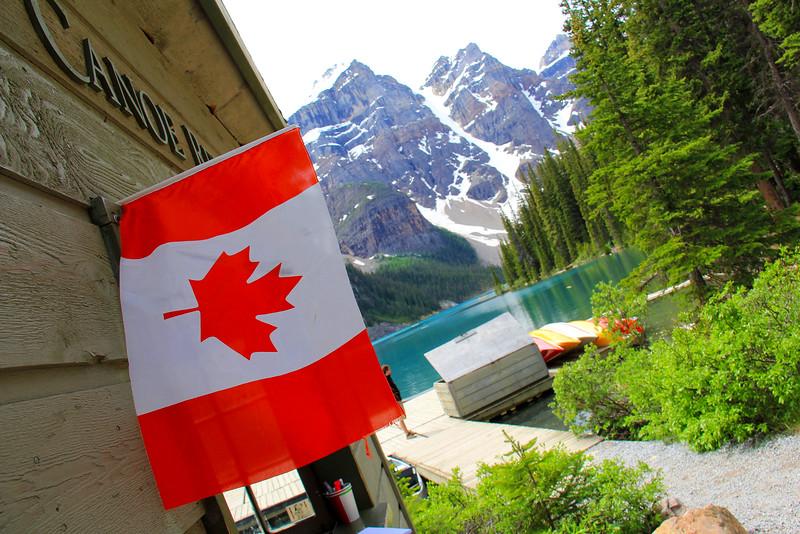 Moraine Lake - Banff National Park - Alberta Canada