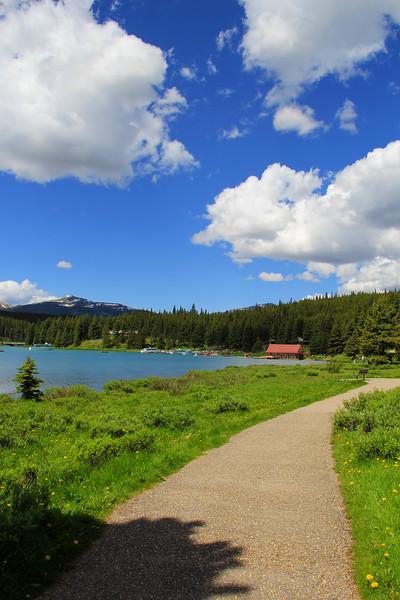 Maligne Lake - Jasper National Park - Alberta Canada