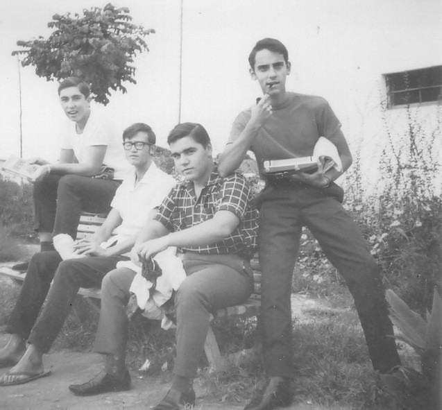 Carlos Gigante ,?,  Carlos Aires Marques e Carlos Pinto