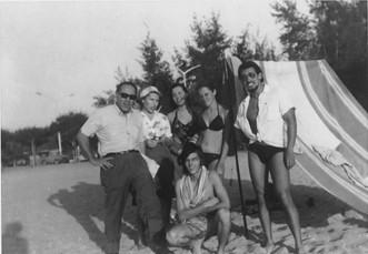 Luanda - casal Leonildo Nogueira, Linda Madureira, Misita, Telinho e?