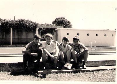 Piscina de Silva Porto 1966 ou 67 —  Jose Santos Sousa, César Marques