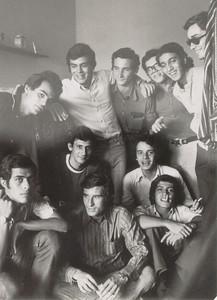 """Saurimo- Abril 1973 Cajó Arrobas, um professor do liceu,  , Tó Ressurreição, , Carlos Salgueiros , Zé Cardoso  , Nando Cerejeira, , Rui Paulo, , """"Pipas"""", Carlos Caldas, , Zé Eduardo Ressurreição , Mesquita,"""