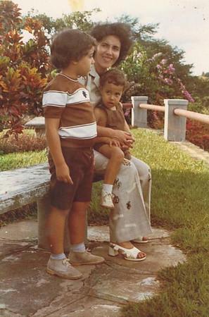 Piscina de Andrada,  Familia de Antonio Nascimento
